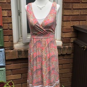 OLD NAVY Paisley Casual Dress